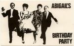 abigails bday party postcard