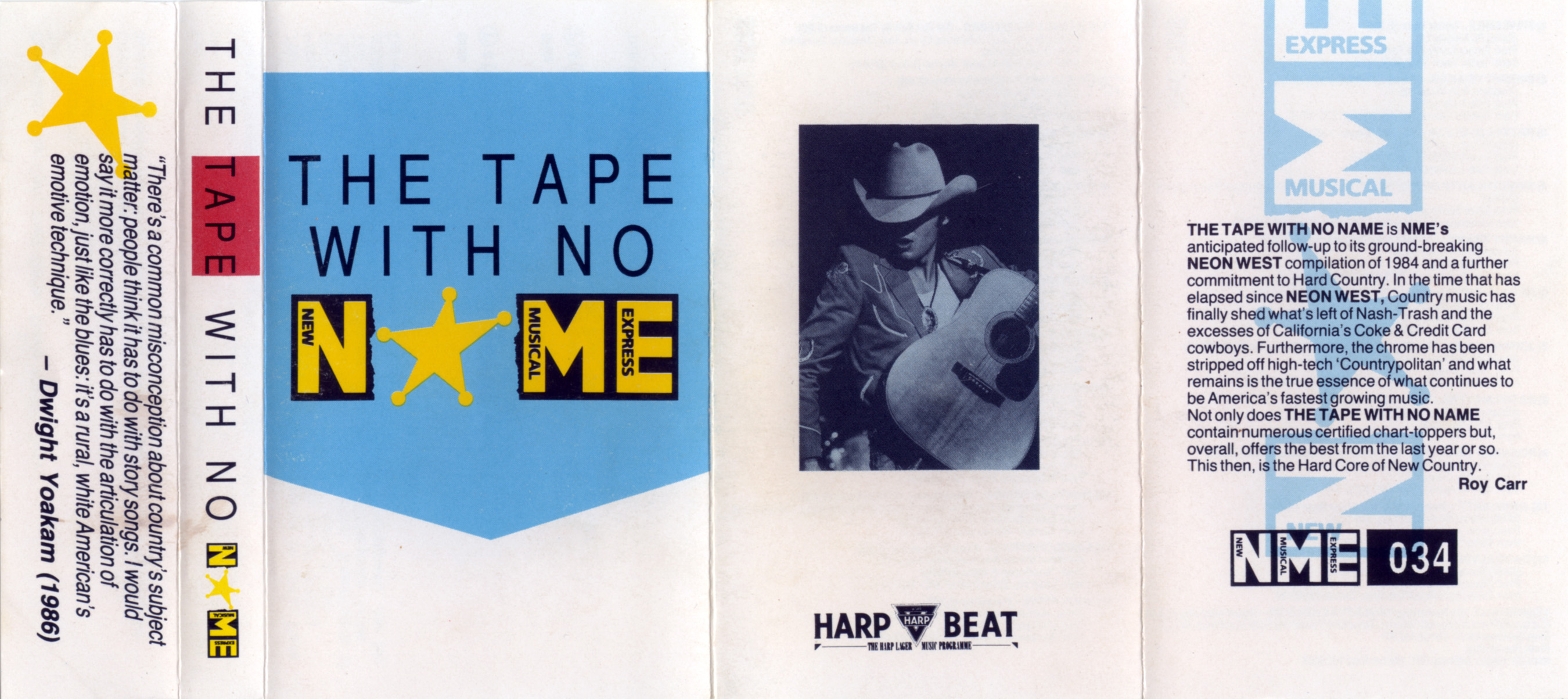 The Tape With No Name (NME034). 1987. | Press Play and Record